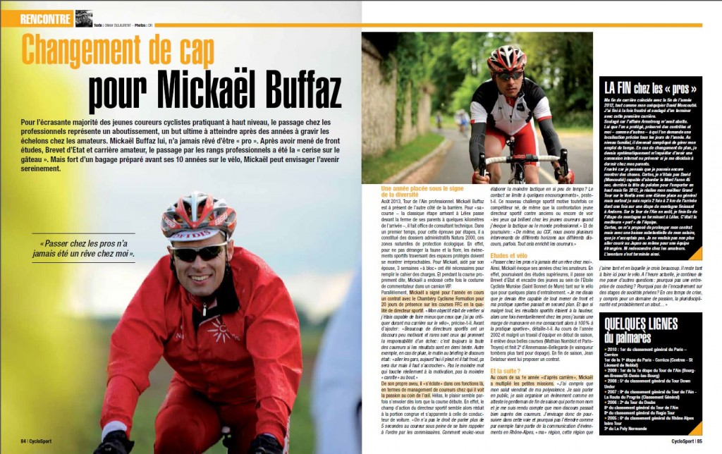 article sur mickael Oct2013